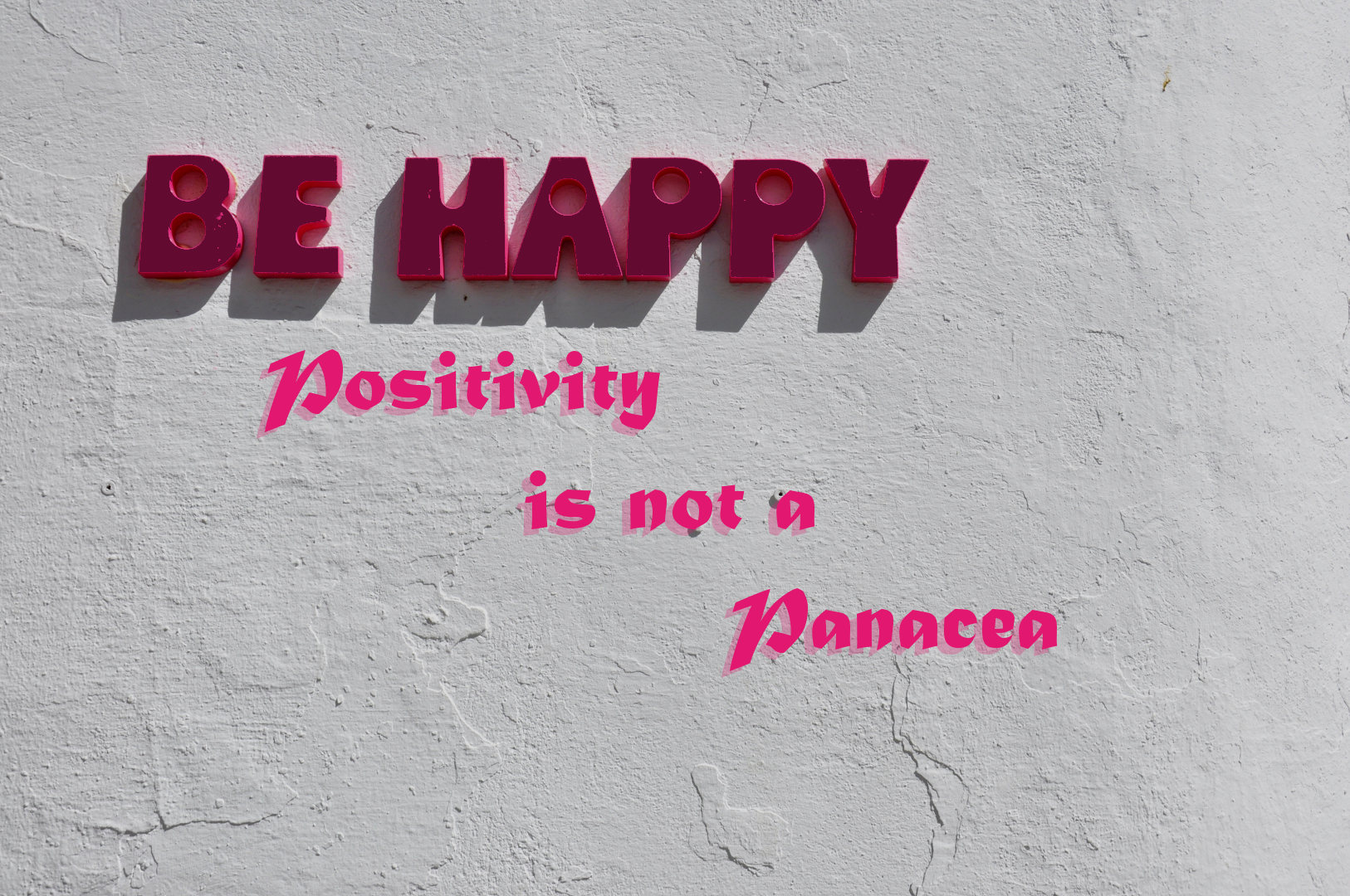 Positivity is not a Panacea