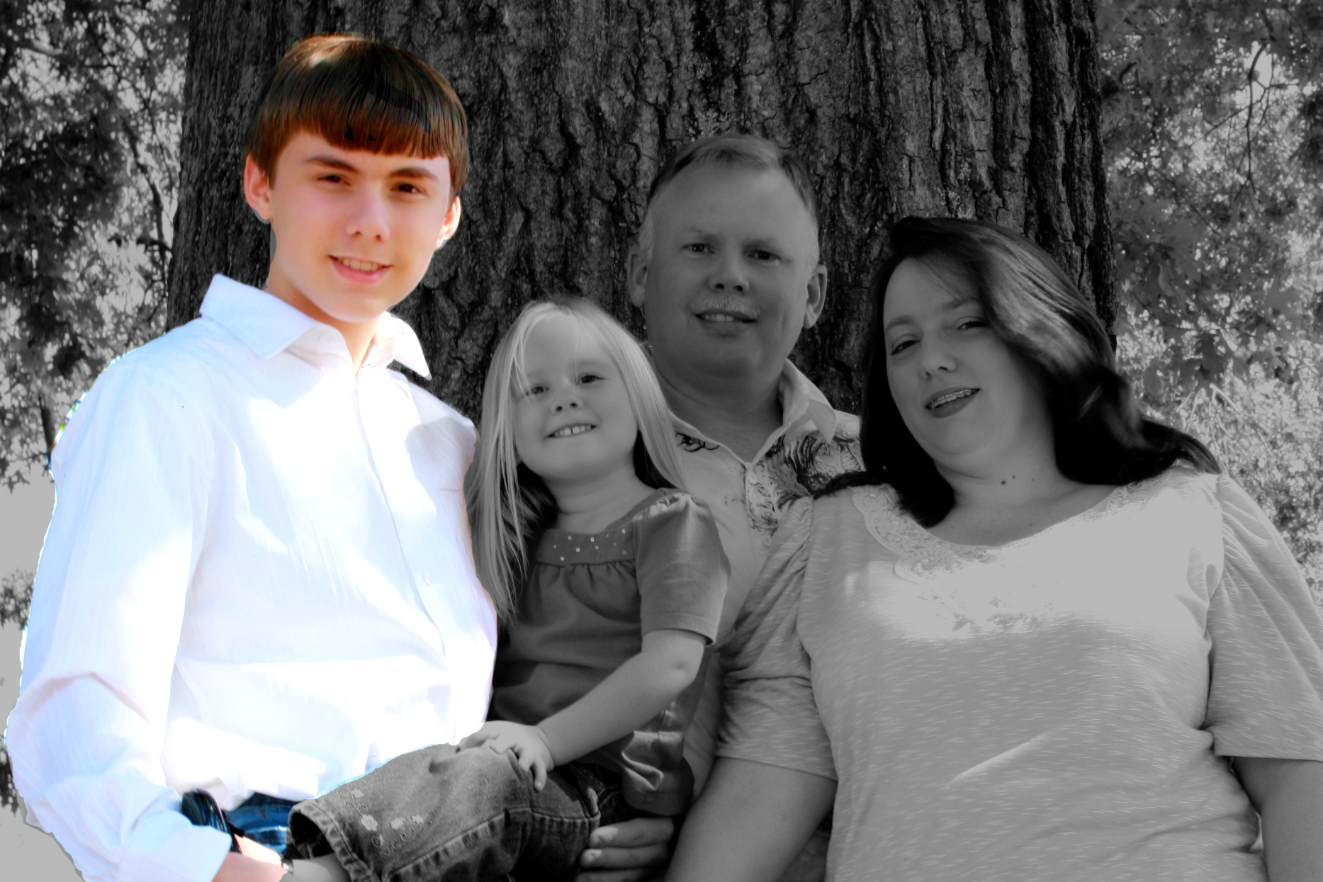 Caleb Family Portrait Overlay